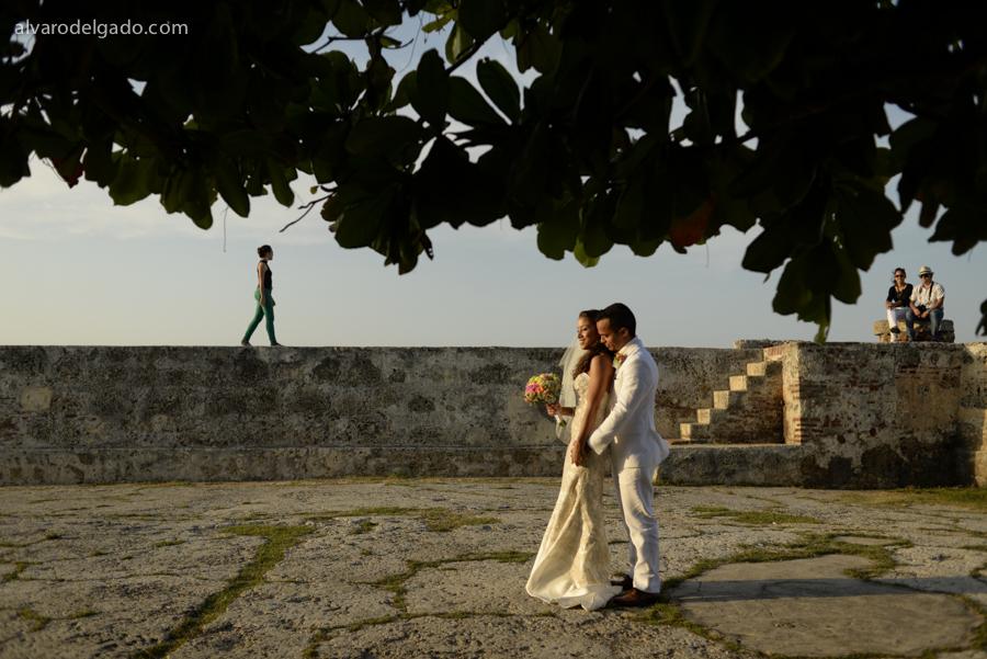 Matrimonio en las Murallas de Cartagena