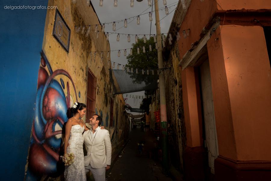 Bodas en Getsemaní Cartagena