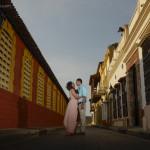 Lorraine & Adrian / E-session – sesión de Fotos de compromiso en Cartagena