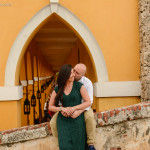 Elizabeth & Javier / Romantic Photo session en Cartagena