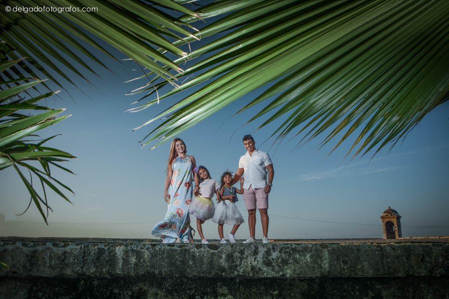 Sesión Fotográfica de familia en Cartagena