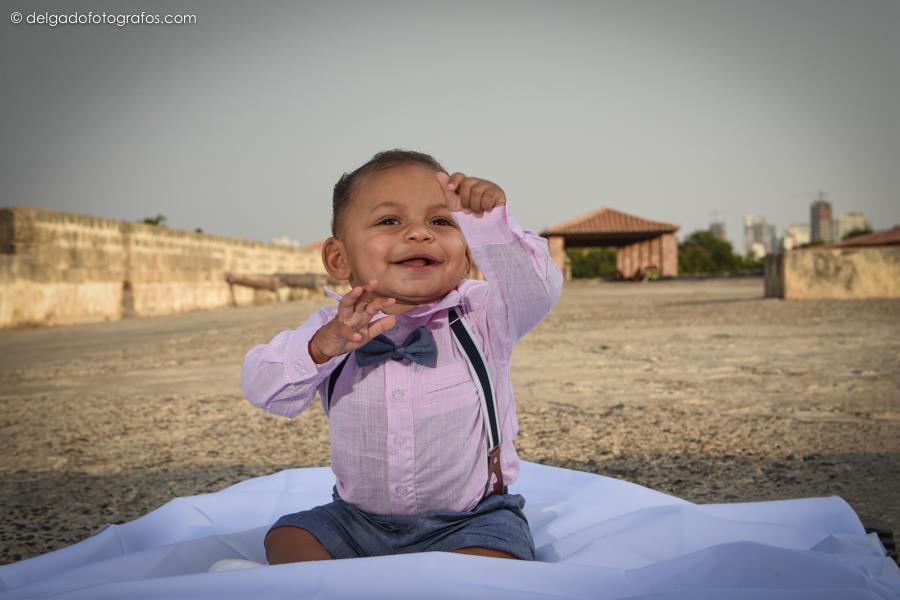 Fotografía de niños y bebés en Cartagena