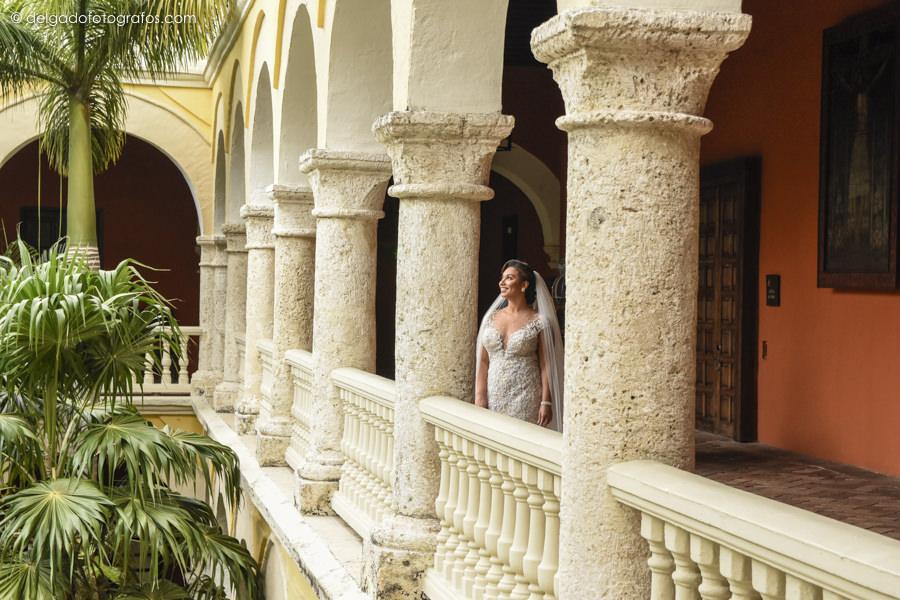 Wedding in Hotel Santa Clara, Cartagena