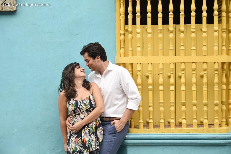 Calles de Cartagena. Cartagena strets