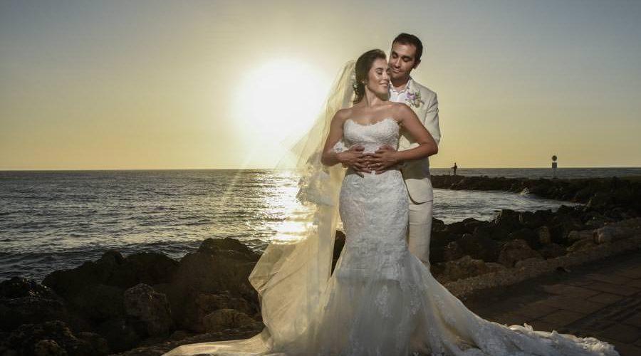 cartagena sunset - wedding photographer