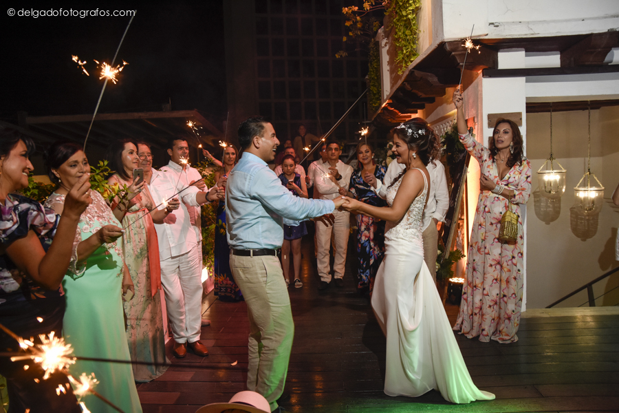 Primer baile en Cartagena
