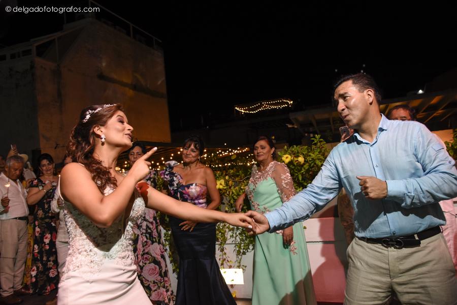 First dance in Cartagena