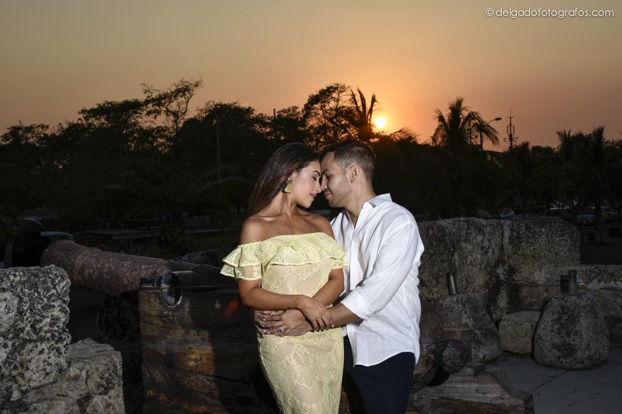 Atardecer en Cartagena / Delgado Fotógrafos
