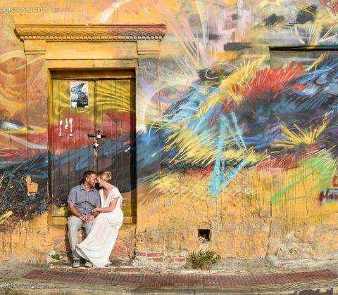 Grafitti en Getsemaní - Cartagena
