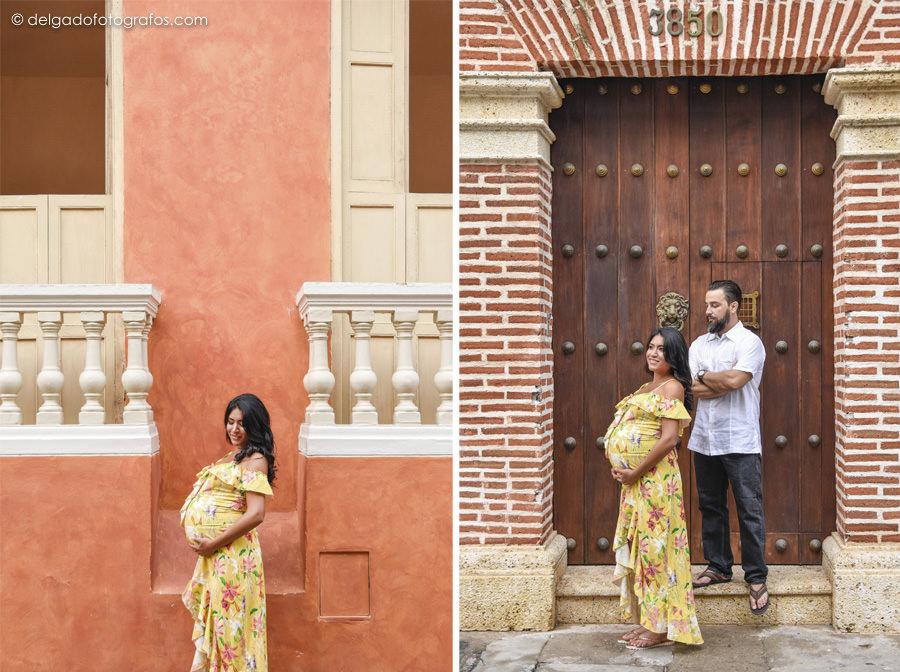 Fotografía de embarazo en Cartagena