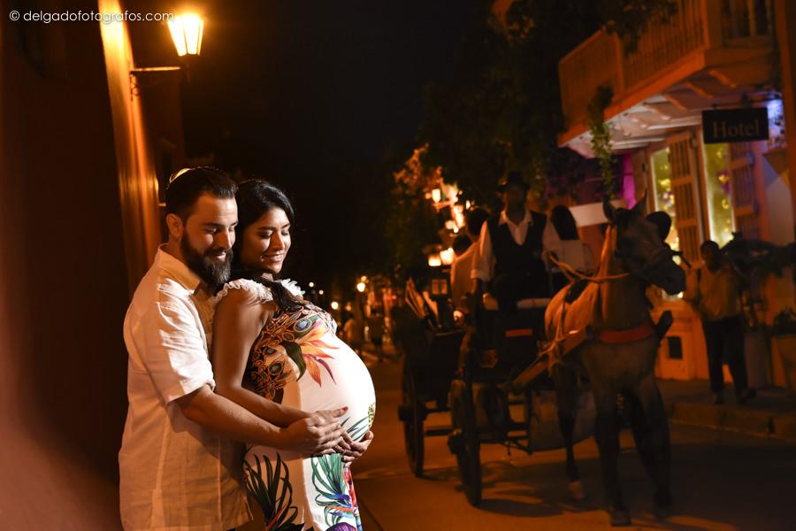 Fotos de embarazo en Cartagena / Pregnancy Photos / Alvaro Delgado