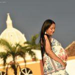 Jennifer + Kevin / Pregnant photo session in Cartagena
