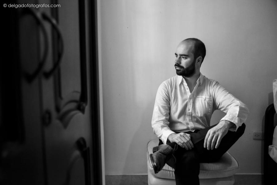 Alvaro Delgado photographe de mariage à Cartagena