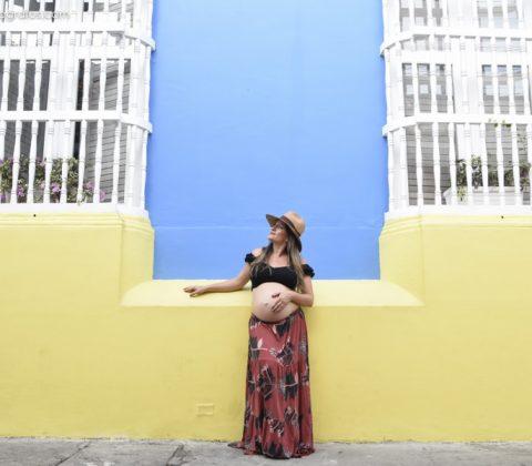 Fotografía de embarazo en Cartagena - Johana Peña fotógrafa