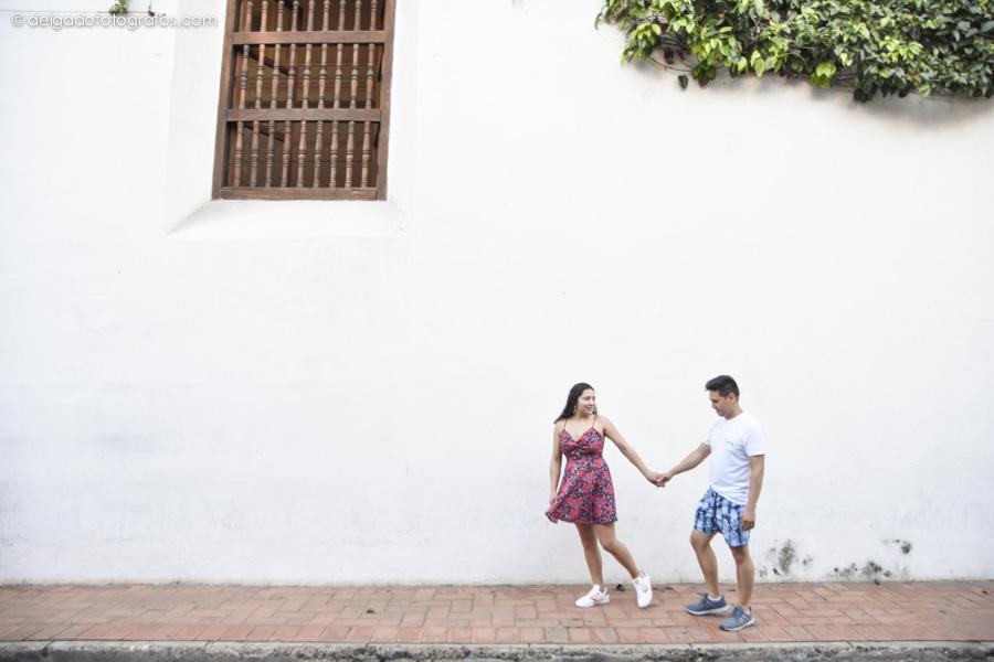 Cartagena de Indias. Fotos de pareja por Johana Peña.